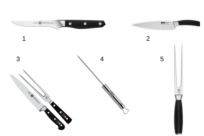 Noże do mięs